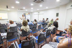En la charla en COP Las Palmas